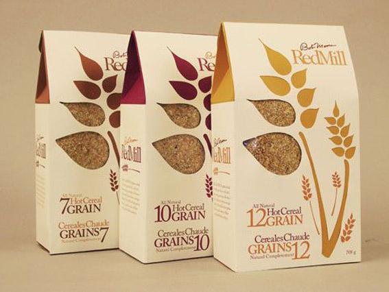 五谷杂粮包装设计材质的展示效果